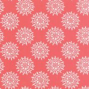 Moda Canyon by Kate Spain - 4317 - Sedum, Stylised Floral on Coral - 27223 16 - Cotton Fabric